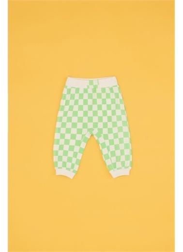 BG Baby Erkek Bebek Desenli Eşofman Altı Renkli